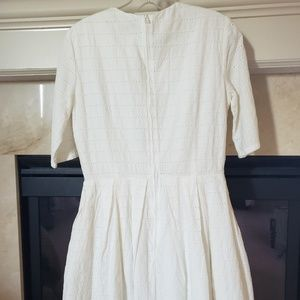GAP Dresses - NWT white eyelet dress with pockets from the Gap